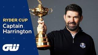 Captain Pádraig Harrington on Ryder Cup Expectations | Golfing World
