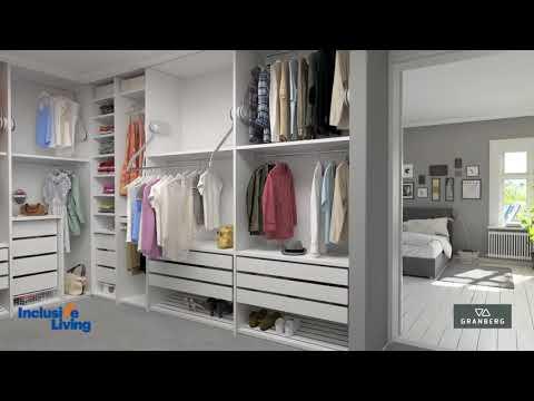 Inclusive Living Australian Distributor of Granberg Wardrobe Lift Butler 722