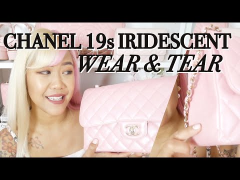 CHANEL IRIDESCENT PINK 19S WEAR & TEAR ♡ So Far & What to Expect ♡ xsakisaki