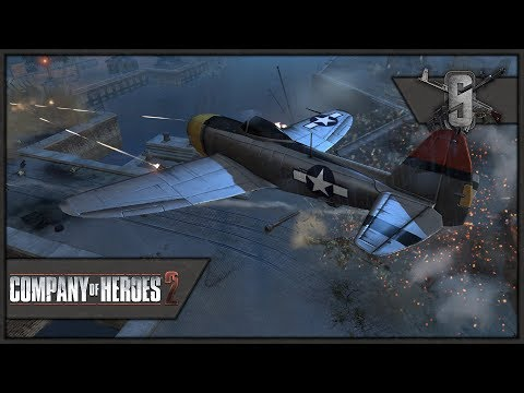 French Para's in Cherbourg Harbour! - Spearhead Realism Mod - Company of Heroes 2