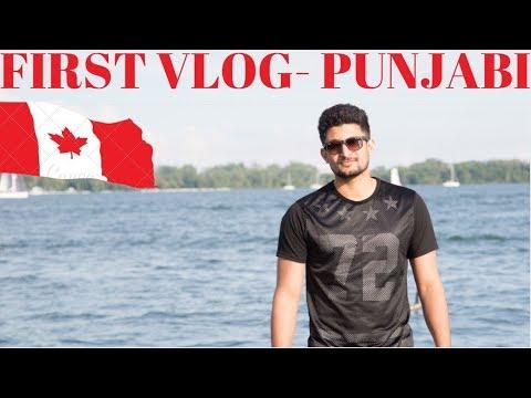 Punjabi Vlog in CANADA (Vlog #1)