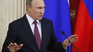 Poutine ironise sur les accusations d