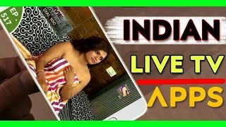 Best INDIAN Live TV Android App 📺 ( Available in playstore )