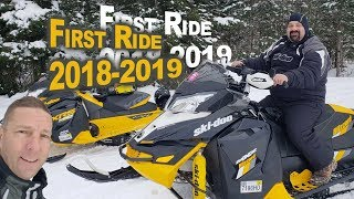 First Ride of the season @ Snodeo 12-8-2018 Old Forge