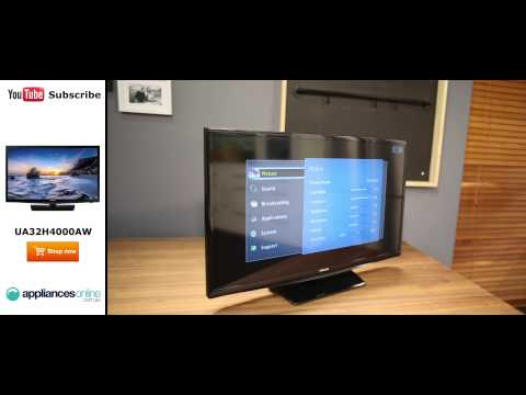 "Samsung UA32H4000AW 32"" HD LED LCD TV Reviewed by product expert - Appliances Online"