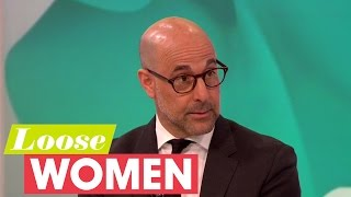 Stanley Tucci On The Robert Downey Jr Walk Out | Loose Women