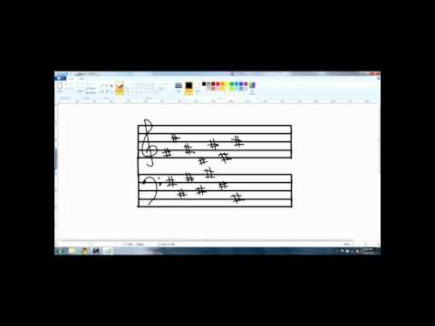 Music Theory Lessons - Key Signature Form