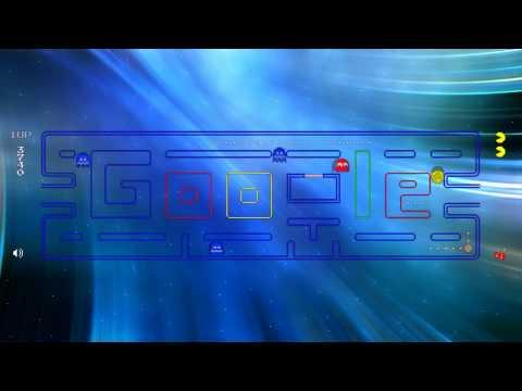Google Logo Pac-Man