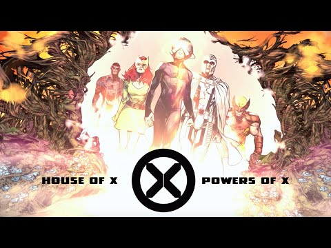 New X Men House Of X And Powers Of X Comic Book Trailer Xmen