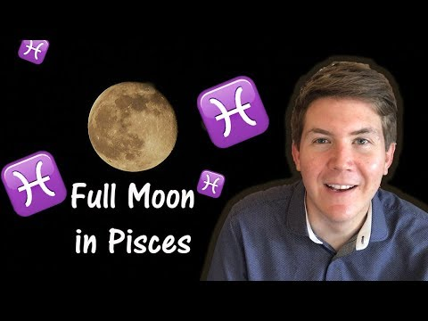 Full Moon in Pisces September 6, 2017 | Gregory Scott Astrology