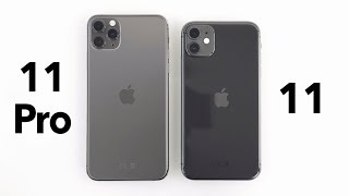 iPhone 11 Pro (Max) vs iPhone 11