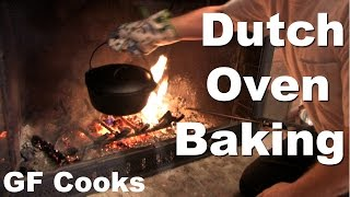 Dutch Oven Rhubarb Crisp Recipe - Gardenfork.tv