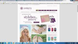 jamberry nas french tips using photoshop tutorial