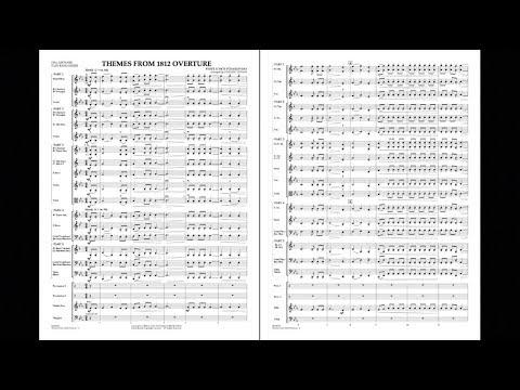 Themes from 1812 Overture  Pyotr Ilyich Tchaikovskyarr Johnnie Vinson