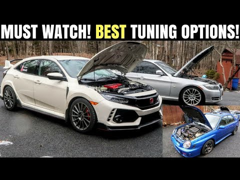 The Top 3 Ways to Street Tune Your Car | Honda Civic Type R Tuning Options