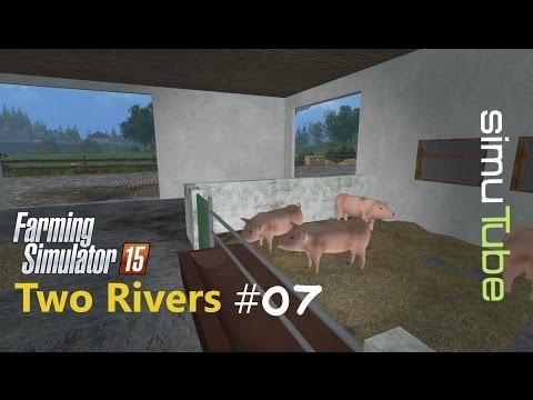 LS15   Two Rivers - Schweinemast  #07 - Let´s Play German [HD+]