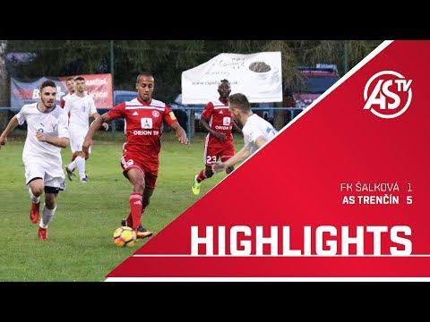 ASTV HIGHLIGHTS | FK Šalková - AS Trenčín 1:5 (0:3)