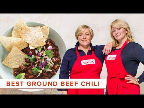 How to Make the Absolute Best Ground Beef Chili