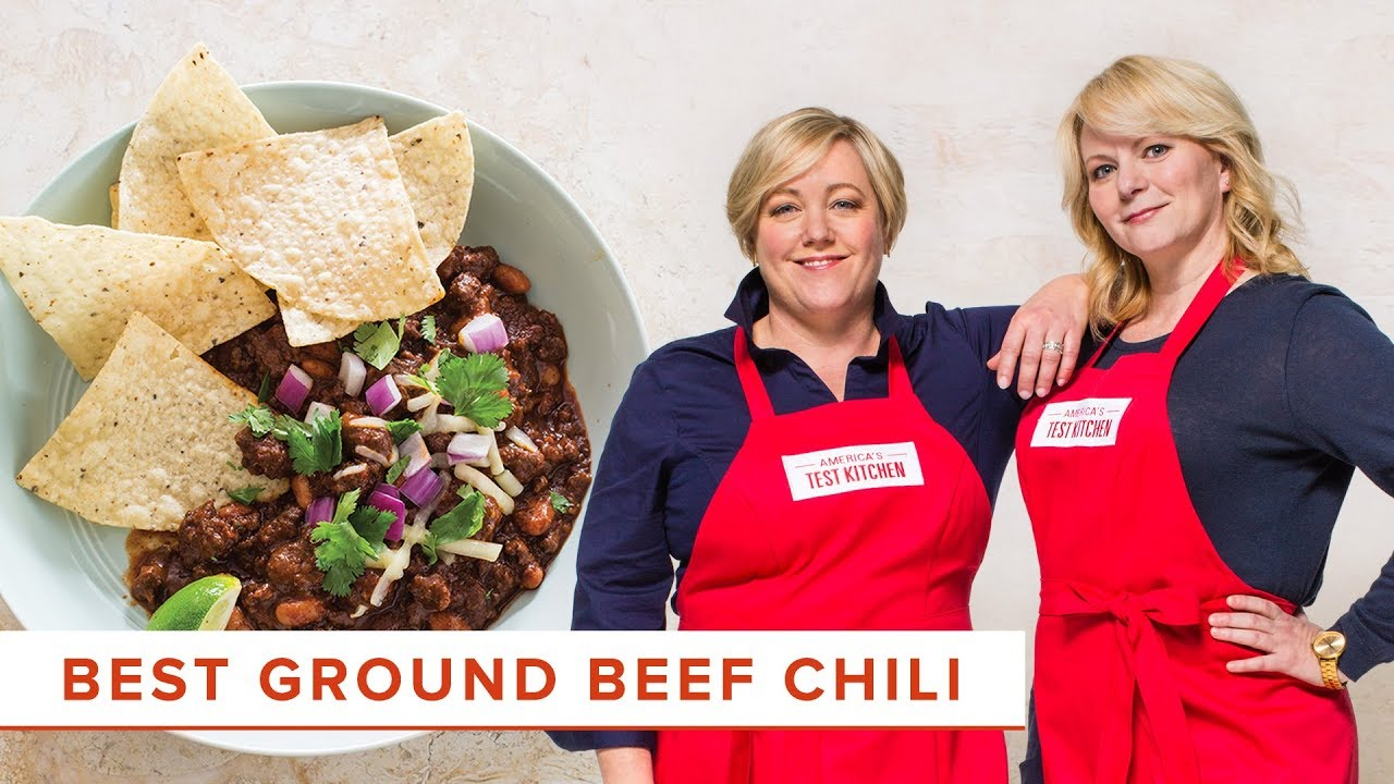How To Make The Absolute Best Ground Beef Chili Youtube
