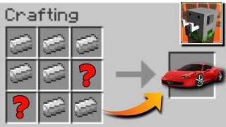 How to make a Working Car in Craftsman: Building Craft