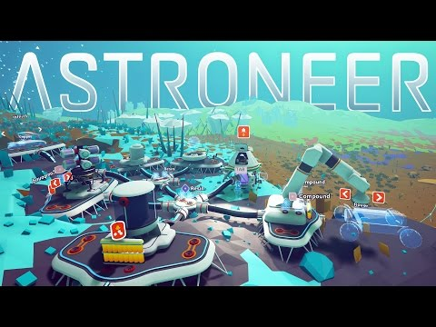 Astroneer - Conquering The Tundra... One Unknown at a Time - Astroneer Gameplay Highlights