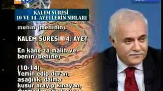 Doc Nihat Hatipoglu   Kalem Suresi Ve Hikayesi 2011