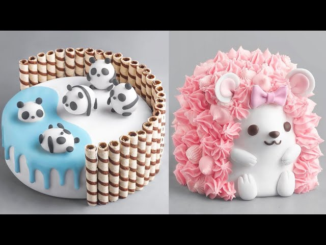 More Amazing Cake Decorating Compilation   Most Satisfying Cake Videos