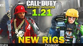 NEW RIGS & More New Weapons To Come - Infinite Warfare 1.21 Update Patch Notes