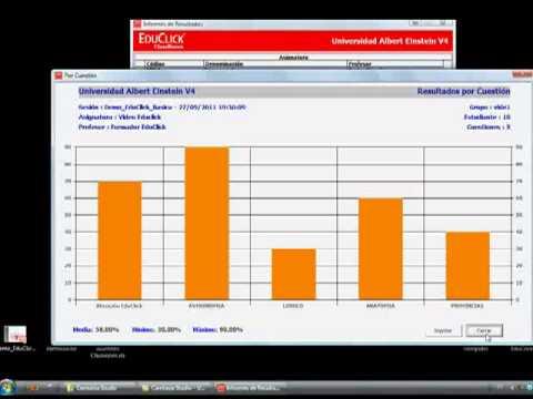 Classroom - 7. Resultados e Informes (Videoguía EduClick)