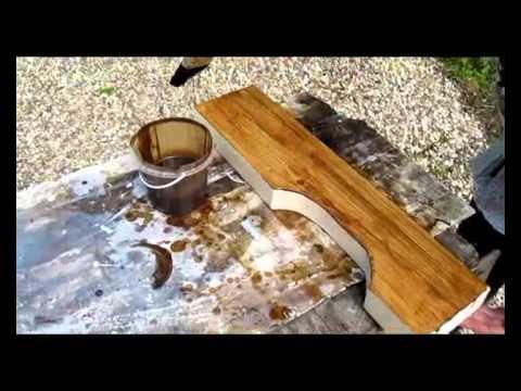 видео: Деревянный стол своими руками