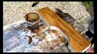 Деревянный уличный стол для дачи: как сделать из дерева на улице своими руками, дачный из досок самому, чертежи, видео