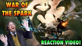 Magic: The Gathering: War Of The Spark Trailer Reaction Video!