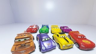Learning colors with lightning McQueen and Disney cars kids games