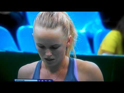 FINALS WTA LIVE  2 Caroline Wozniacki vs stosur KREMLIN CUP  MOSCOW 2012
