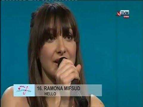 Ramona Mifsud - Hello (Sanremo Junior Malta 2016)