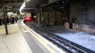 アキーラさん利用!イギリス・ロンドン・地下鉄Baker-street駅1,London,UK