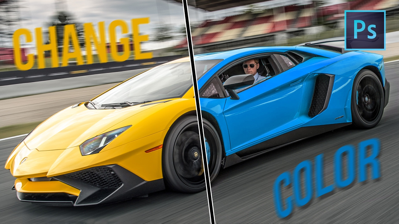 how to change color in photoshop 7