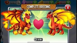 Pure Flame Dragon vs Flame Dragon | Dragon City [EXCLUSIVE BREEDING DRAGON]