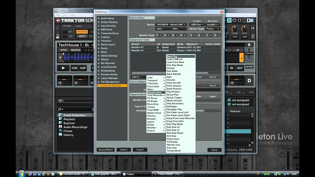 Ableton Tutorial: Midi Mapping between Traktor and Ableton with JACK and  more   (part 2)