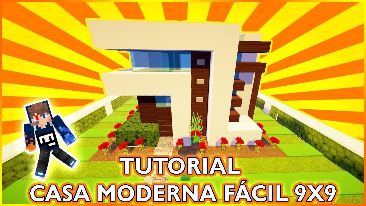 tutorial casa moderna de 9x9 youtube