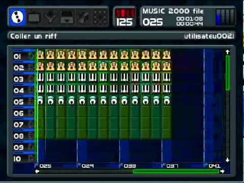 Castlevania,  intro and stage 1 on music 2000 (mtv music generator)