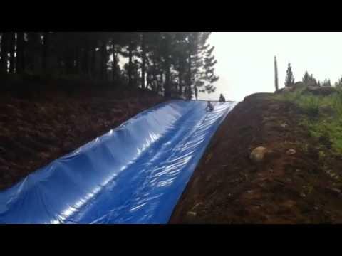 water slide dahilayan garden youtube. Black Bedroom Furniture Sets. Home Design Ideas