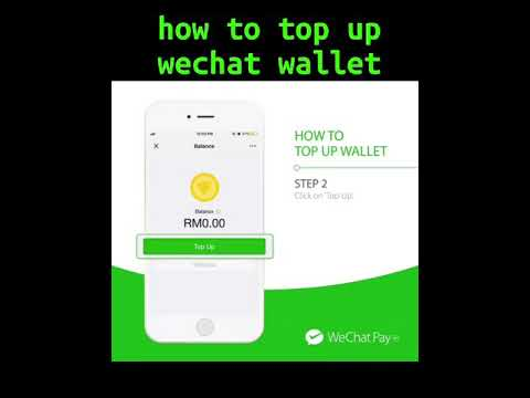 How to top up wechat wallet Malaysia July 2018