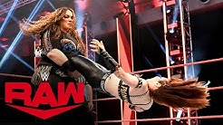 Kairi Sane vs. Nia Jax: Raw, April 20, 2020