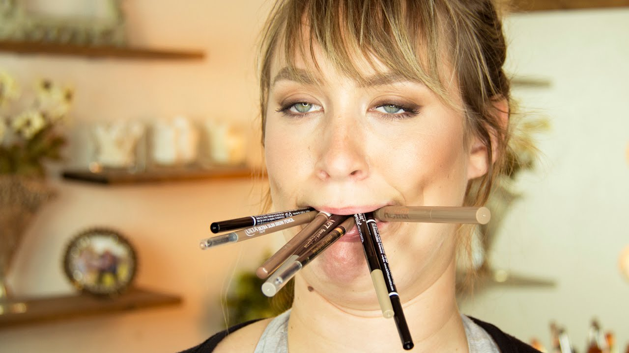 The Best Brow Pencils At The Drugstore For Blondes Smackdown Youtube