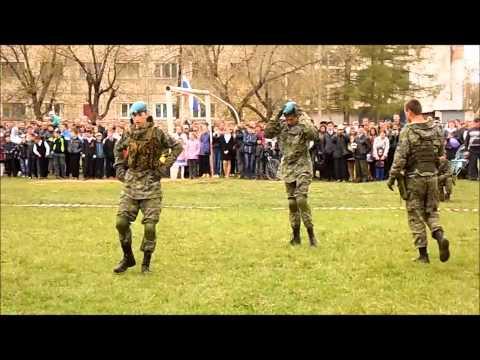 Показательные выступления пгт Красная Поляна Вятскополянский район  9 мая 2015 г