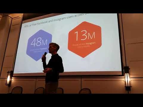 Discovering business growth in a mobile world: John Wagner, Facebook - WD Networking Thailand (2)