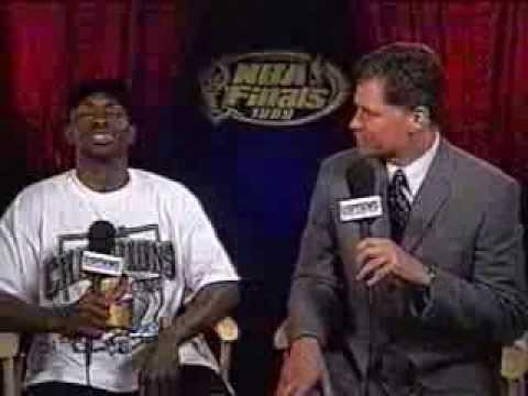 Avery Johnson - 1999 NBA Championship Interview (ESPN)