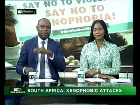 TVC Breakfast| SOUTH AFRICA: XENOPHOBIC ATTACKS Feb 28, 2017