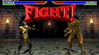 Mortal Kombat Gold: Cyrax Ultimate Difficulty Master Ladder II part 2/2